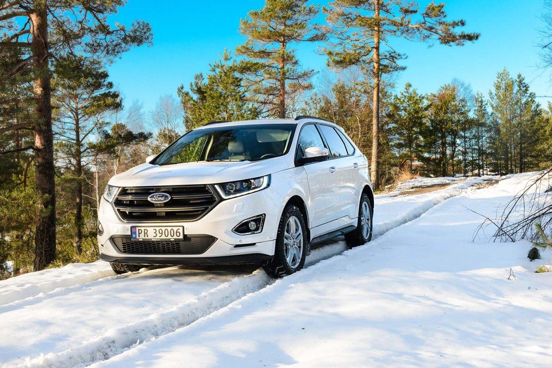 Nye Ford Edge lansert noember 2016