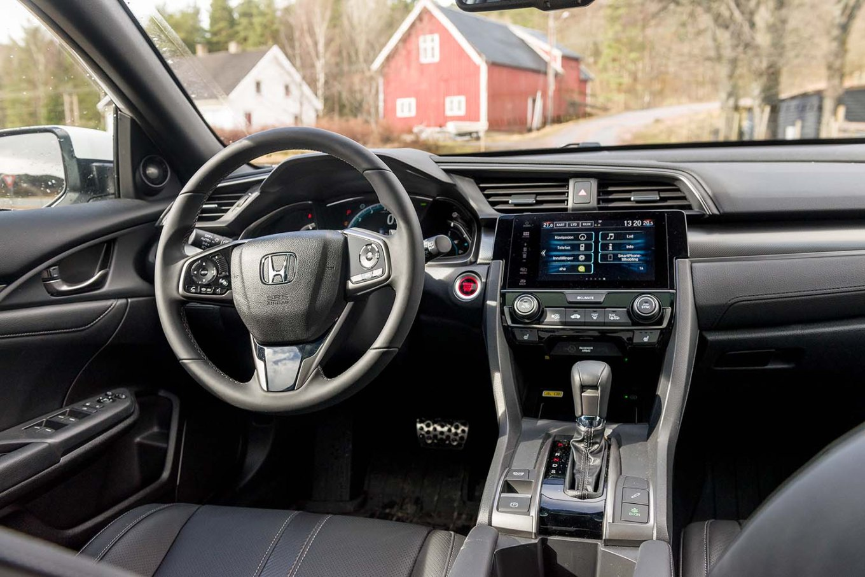 Ny Honda Civic lansert mars 2017