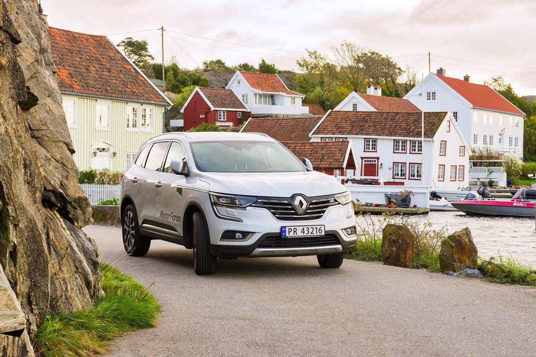Renault lanserer ny SUV; Koleos