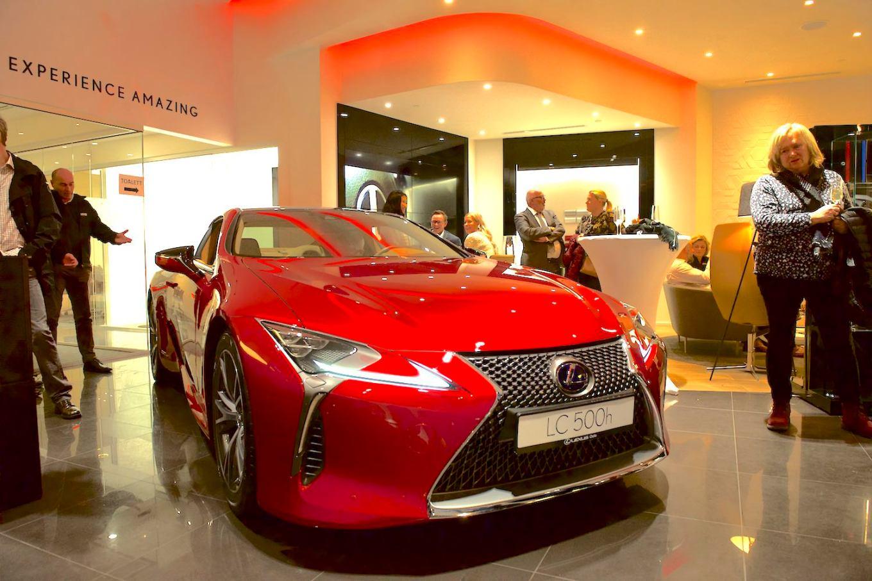 Lexus åpnet butikk i Sørlandsparken januar 2018