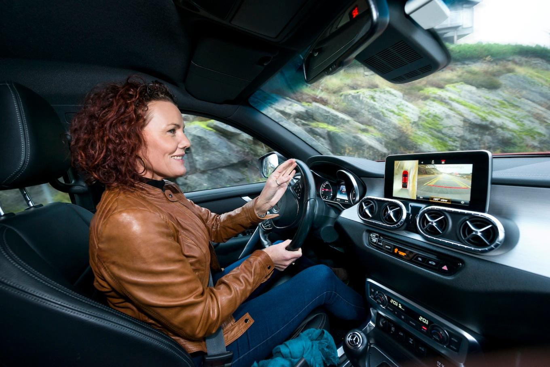 Mercedes X-Klasse - ordfører Gro Anita Mykjåland